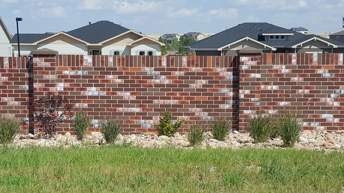 Precast Brick Fence Walls Aftec