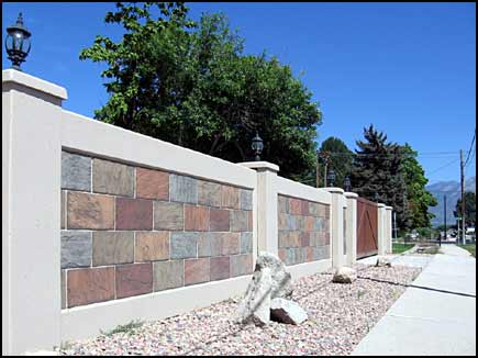 Decorative Concrete Walls