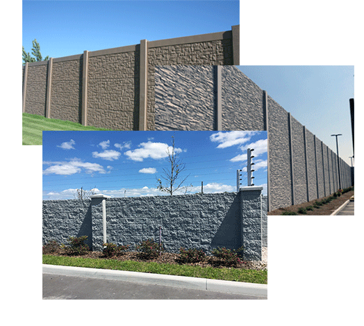 Precast Concrete Fence And Wall Products - Advanced Precast Forming