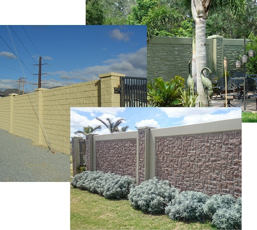 examples of decorative precast retaining walls