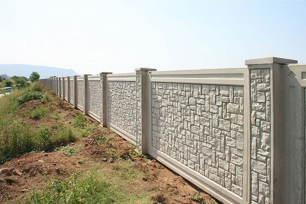 AFTEC precast boundary walls