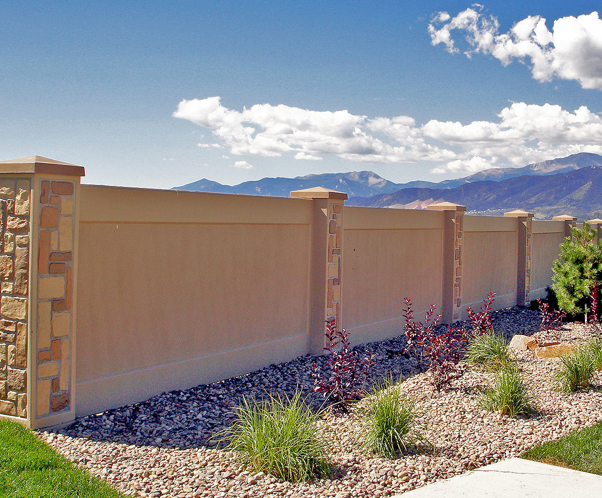 precast concrete stucco wall
